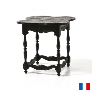 カーブドサイドテーブル Acanthus Leaf Carved Side Table